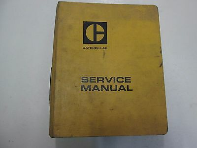 Caterpillar 950 Wheel Loader Steering Systems Service Manual Set Binder Stains