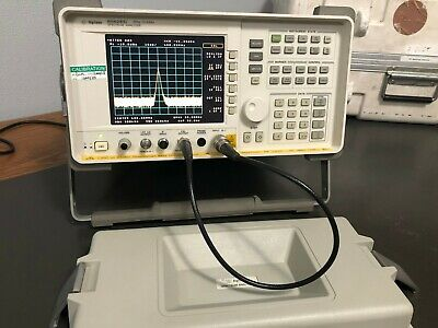 Agilent 8562ec 30hz - 13.2ghz Rf Spectrum Analyzer W Opt 007 Calibrated Case
