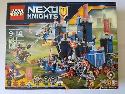 Sealed LEGO 70317 Nexo Knights The Fortrex Rare & Retired NEW/SEALED 1140pcs