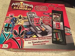 Power Rangers Super Samurai Samuraizer Switch Board Game