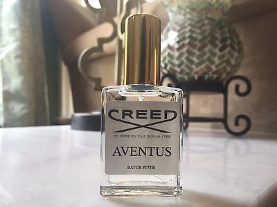 Creed Aventus 17T01 15Ml Sample   100  Authentic   Ships Next Day