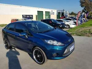 2010 Ford Fiesta WT LX PwrShift Blue 6 Speed Sports Automatic LOW KMS Maddington Gosnells Area Preview