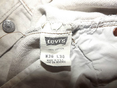 LEVIS 501 REGULAR FIT JEANS W36