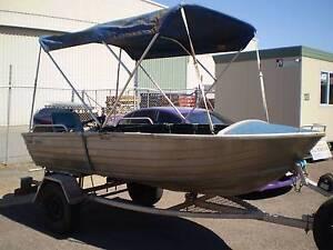 Bermuda Tinny with 25hp 4 stroke bigfoot mariner Winnellie Darwin City Preview