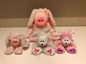 4 x Bunny rabbit Beanie kids & Cuddly kid Fifi Bunny & Lulu Endeavour Hills Casey Area Preview