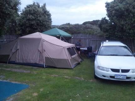 Black wolf family tent & Black Wolf Turbo 300 Tent | Camping u0026 Hiking | Gumtree Australia ...