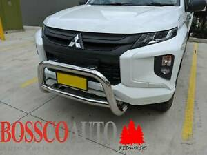 Polished Stainless Steel Nudge Bar For Mitsubishi Triton MR Series 18 Prestons Liverpool Area Preview