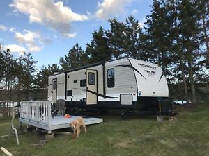 Looking for place to park camper in St. John