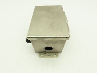 Hoffmann A6044chnfss Stainless Steel Electrical Enclosure Jic Box 6x4x4