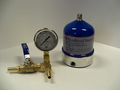 55 Gph Centrifuge Wbrass And Gauge For Wvo Oil And Biodiesel