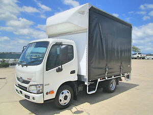 Hino 616 - 300 Series  Curtainsider Glanmire Gympie Area Preview