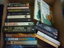 4 boxes of books (around 70) in good condition $30 the lot Panorama Mitcham Area Preview