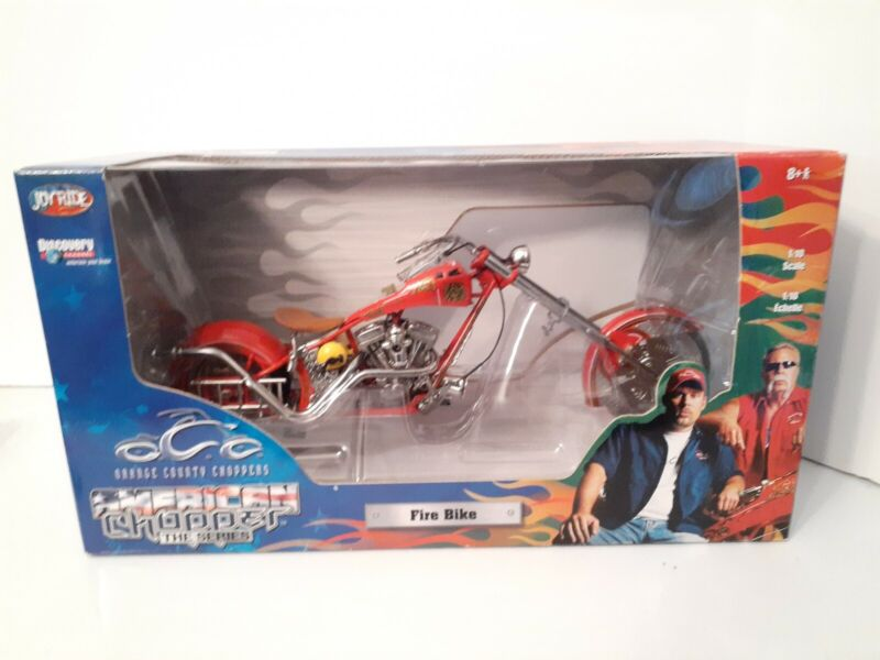 American Choppers The Series Fire Bike OCC Orange County Choppers Motorcycle New