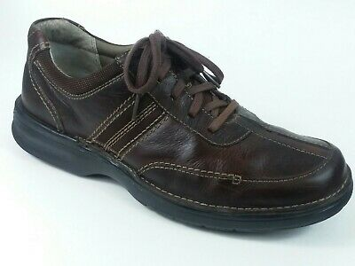 CLARKS Mens 82469 Slone Brown Oily Oxford Lace Up  Leather Shoes 9.5 M