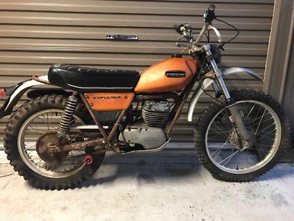 1974 ossa explorer trials bike