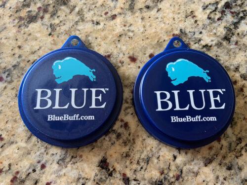 BLUE BUFFALO Pet Food Can Covers Lids Set Of 2