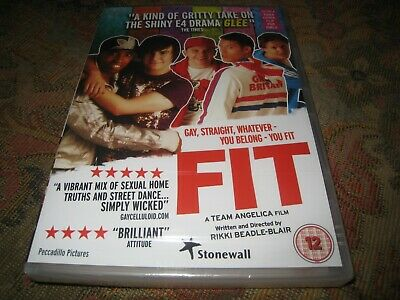 FIT STONEWALL PRODUCED SEALED 2010 SASHA FROST GAY ROMANTIC COMEDY UK DVD.