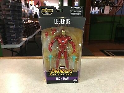 "2018 Marvel Legends Avengers Infinity War 6"" Figure MOC BAF Thanos - IRON MAN"