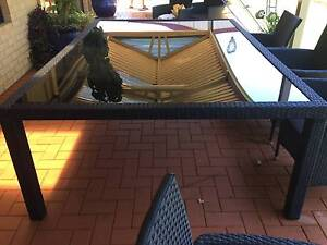 Outdoor Dining Table 10 Seater Meadow Springs Mandurah Area Preview