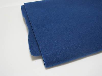 1 Stück blauer Filz Boxen Teppich Bespannstoff Bezugsstoff 150x75cm blau 2422