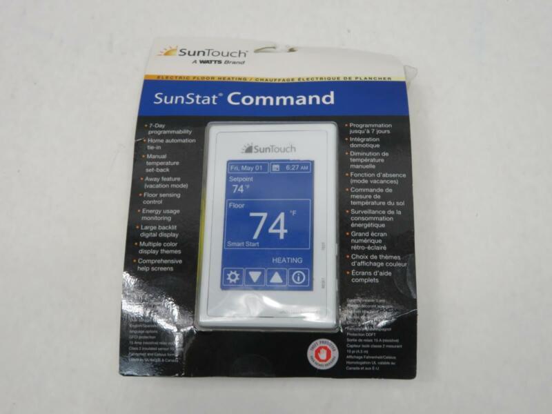 SunTouch SunStat Command Programmable Radiant Floor Heating Thermostat
