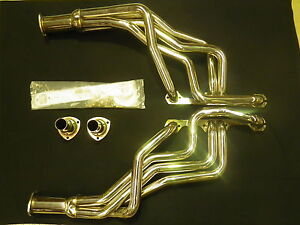 HOLDEN HK / HT / HG WITH CHEV ENGINE STAINLESS STEEL EXTRACTORS  HEADERS