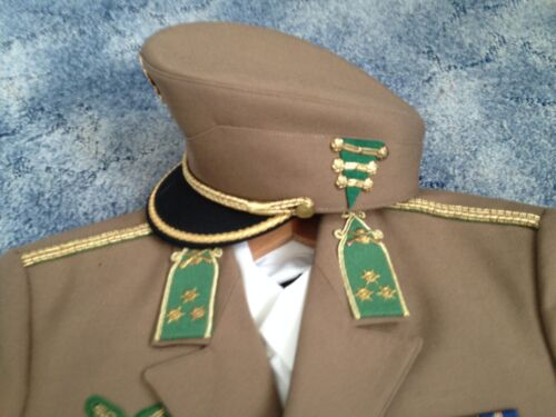 Hungary Captain Uniform, 2 Shirts, Border Guard Bocskai Cap, Shipping EU USD 30