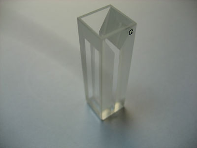 Micro Fluorescence Glass Cuvette1cm0.7ml Cell Cuvettes10mm Light Pathcells