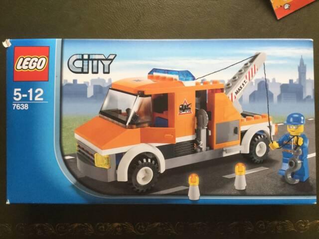 LEGO City Tow Truck 7638 w/ Instructions & Original Box RARE ...
