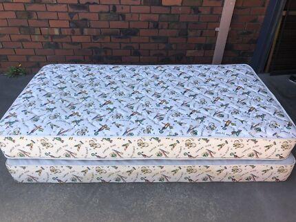 King single mattress and base