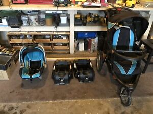 Baby Trend Expedition EXL Jogging Stroller & Infant Carseat