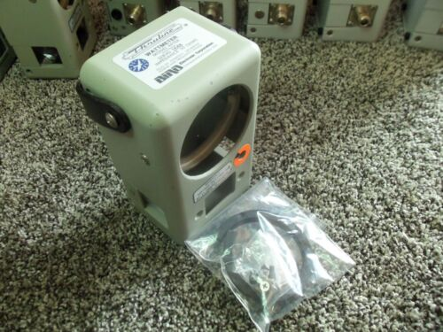 Bird 4410A 43 Thruline Wattmeter Watt Element RF Slug Reading Meter Empty Case