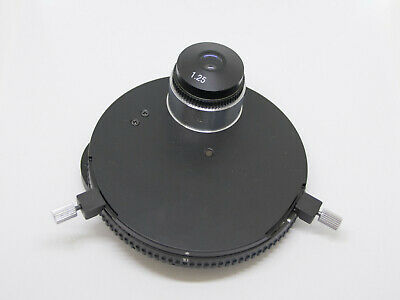 Phase Contrast Condenser Turret Darkfield - Fits Fisher Micromaster I S90010