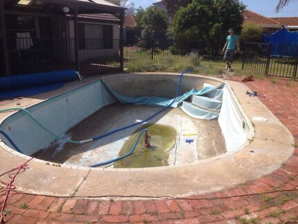 Swimming pool renovations. Fibreglass &concrete.  Water features  Atwell Cockburn Area Preview