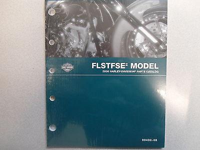 2006 Harley Davidson FLSTFSE2 Parts Catalog Manual FACTORY OEM BOOK NEW 06