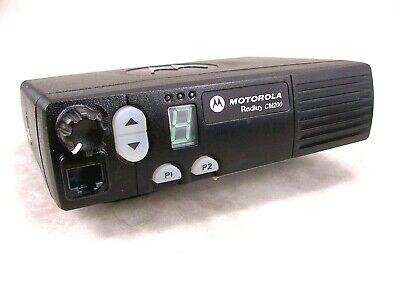 Motorola Cm200 Vhf 45w Mobile Radio Wnew Accessories