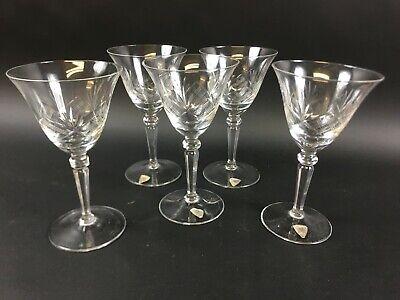 Vintage Ichendorfer Glashütte Wein Gläser Weinkelch Weinglas Glas 9BHS