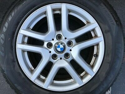 """GENUINE OEM BMW X5 E53 17"""" STYLE 130 SPARE ALLOY WHEEL & 5MM TYRE 6761929-14"""