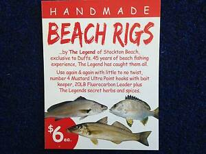 Handmade Beach Fishing Rigs Salamander Bay Port Stephens Area Preview