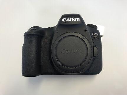 Canon 6D - FULL FRAME SLR CAMERA