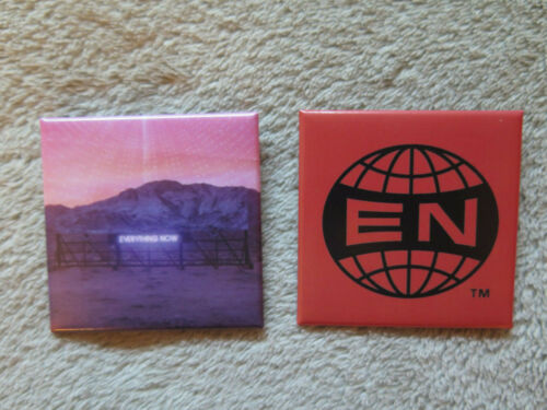 Arcade Fire Everything Now Pin Set Pins