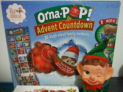 Elf on the Shelf Lot, Elf, Book & Orna-Pop Advent Countdown Elf on the Shelf