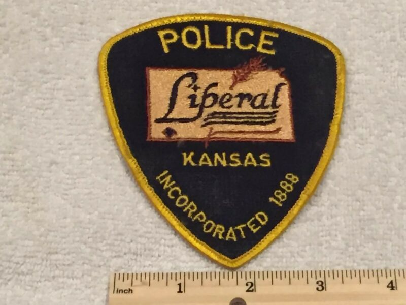 Liberal Kansas Police Patch