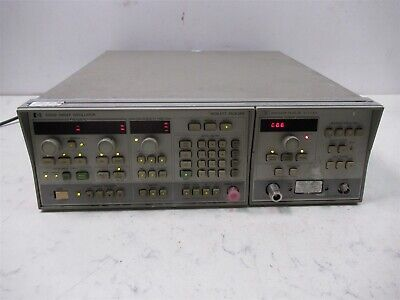 Hewlett Packard Hp 8350b Sweep Oscillator With 83522a Rf Plug In 01-2.4 Ghz