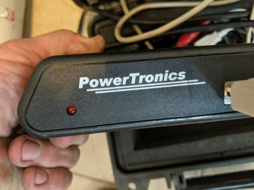 Powertronics recording power (voltage) anylizers. 1@110V and 1 for 3 phase