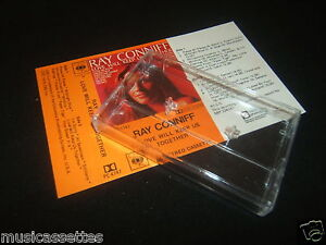 RAY-CONNIFF-Love-Will-Keep-Us-Together-NEW-ZEALAND-CASSETTE-UNUSED-Inlay-Card