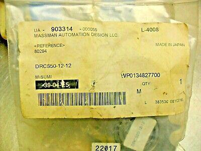 Misumi Drcs50-12-12 Idler Sprocket Stainless Steel Factory Sealed Bag
