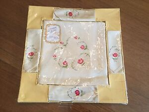 Vintage Irish linen embroidered tablecloth $25 Altona Meadows Hobsons Bay Area Preview