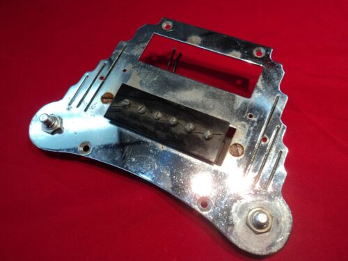 """VINTAGE VALCO/SUPRO """"TONEMASTER"""" LAP STEEL GUITAR PICKUP AND CONTROL ASSY"""