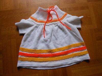 Vintage :  Baby Kleid, es ist aus den 70-zigern , Gr. 86 aber sehr klein !